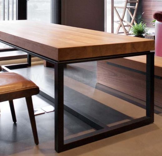 industrial dining furniture. [PRE-ORDER] Igor Industrial Table   Modern Collaboration (150cm) Dining Furniture