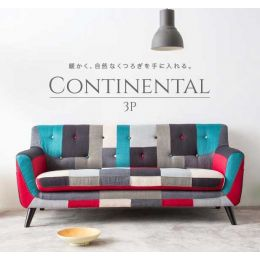 Continental Sofa (3 Seater) - 5 Designs