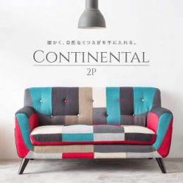 Continental Sofa (2 Seater) - 5 Designs