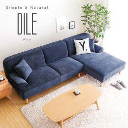 Dile 3 Seater Corner Sofa