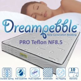Dreampebble Pro Teflon Plush NF8.5 Mattress