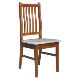 Lois Solid Wood with Marble Top Dining Chair 02 (Full)