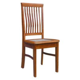 Lois Solid Wood with Marble Top Dining Chair 01