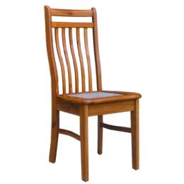 Lois Solid Wood with Marble Top Dining Chair 003