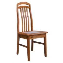 Lois Solid Wood with Marble Top Dining Chair 005