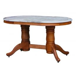 Lois Natural Marble Dining Table IV