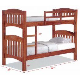Woods Double Decker Wooden Bed Frame III
