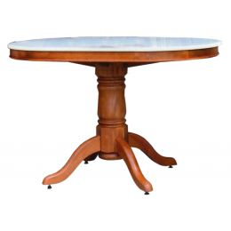 Lois Natural Marble Dining Table II