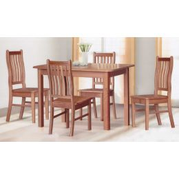 Rois Solid Wood Dining Set 001
