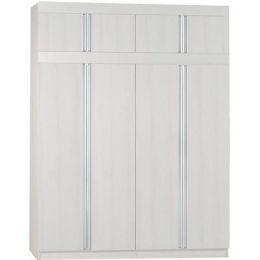 Milan Open Door Wardrobe II (Cedar Ash)
