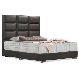 Norris Leatherette Bed Frame