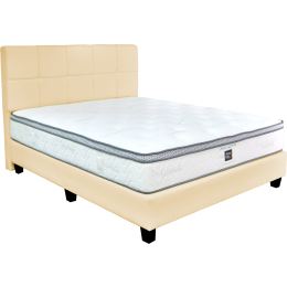 Sleepy Night Ortho Supreme Pocketed Spring Mattress Bed Frame Bundle