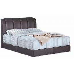 Richard Faux Leather Bedframe
