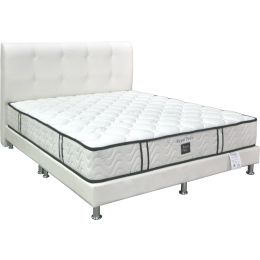 Sleepy Night Royal Pedic Pocketed Spring Mattress Bed Frame Bundle