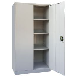 Keith M. Full Height Metal Cabinet (2 Door)