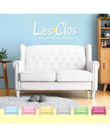 Les Clos 2 Seater Fabric Sofa