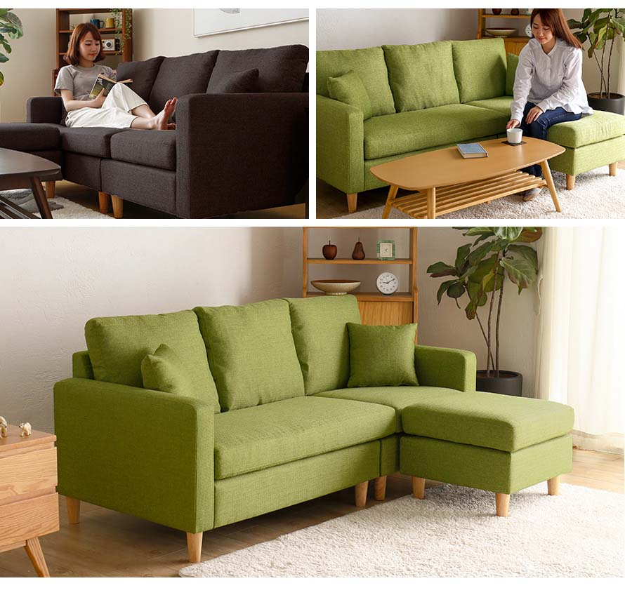The Belluno Sofa is a sight to behold. Beatiful and multifunctional Japanese style.