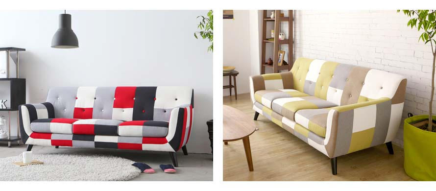More Continental Sofas in living rooms