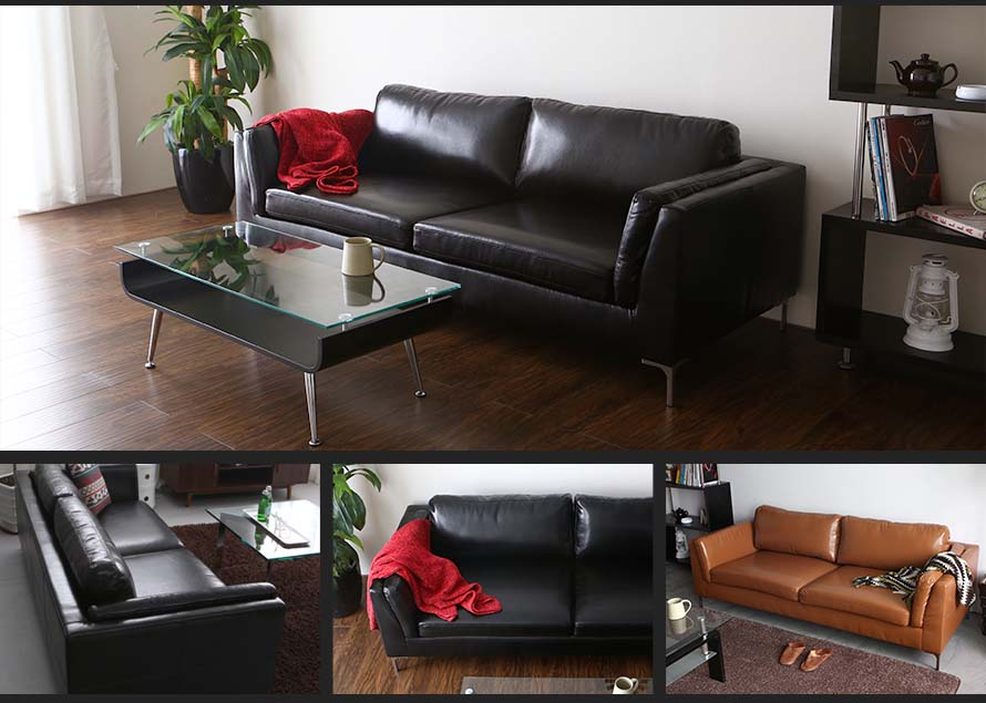 The Forma Japanese sofa is seen here in different angles. Nuloft is the biggest furniture online store in Singapore.
